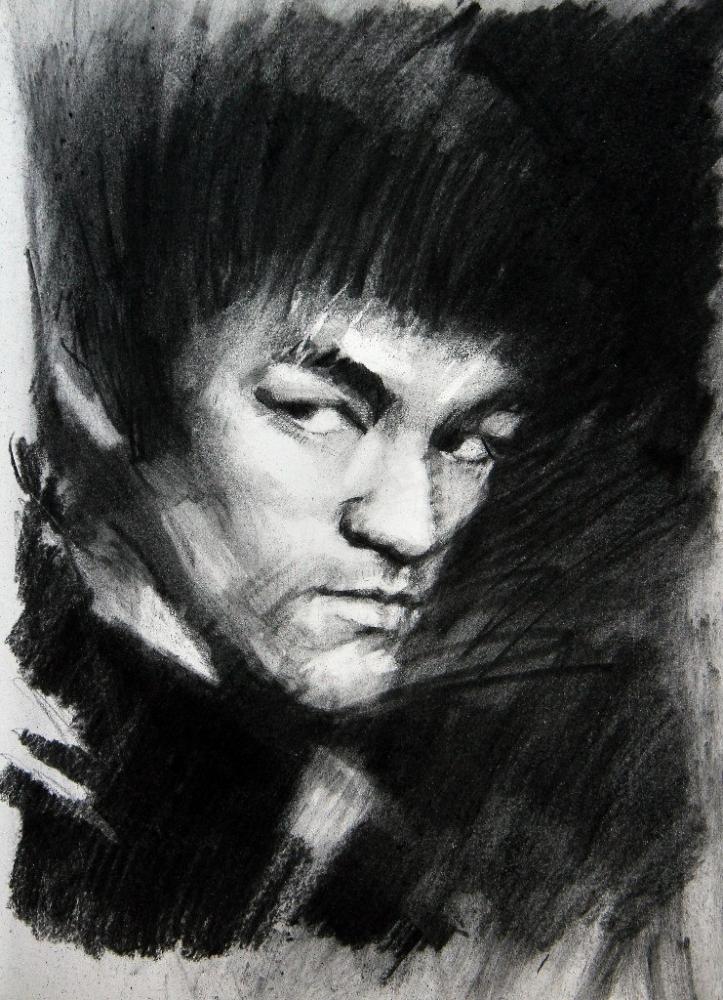 Bruce Lee by Vasiliy